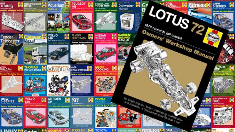 Haynes Manuals stops printing hard copies of new car repair manuals