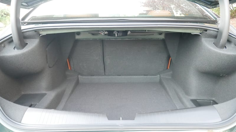 Cadillac CT4 Luggage Test trunk detail 2