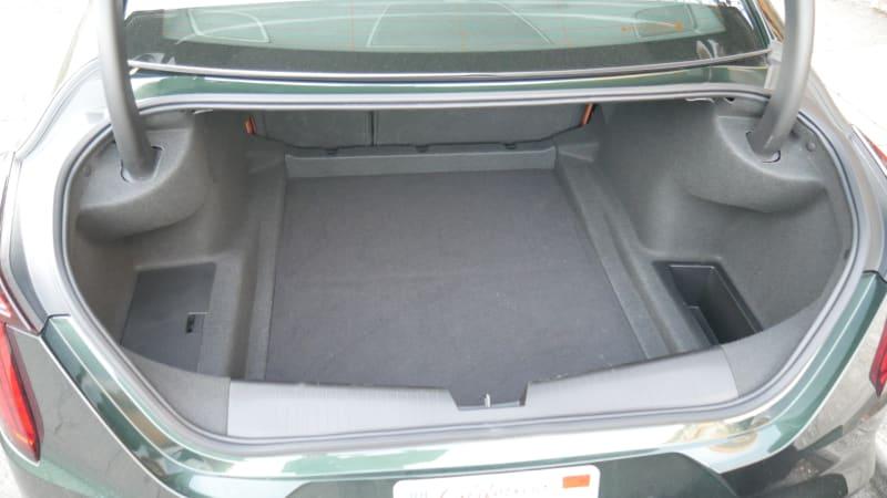 Cadillac CT4 Luggage Test trunk1