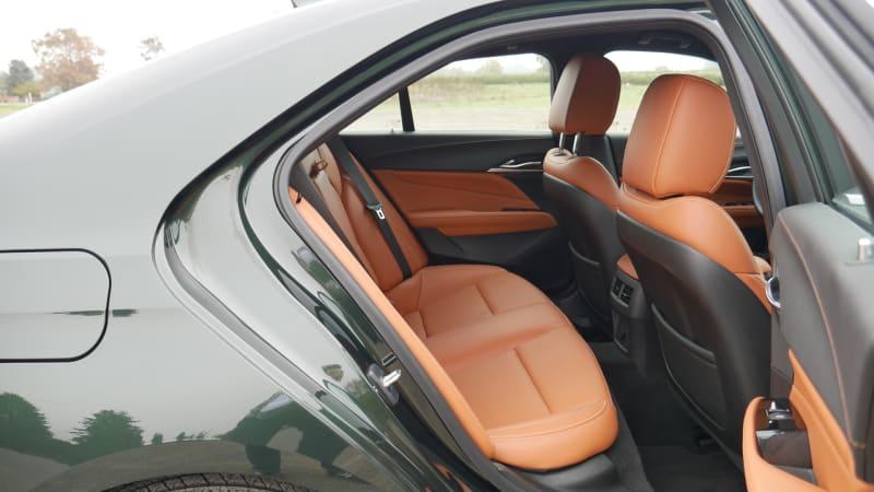 2021 Cadillac CT4 back seat