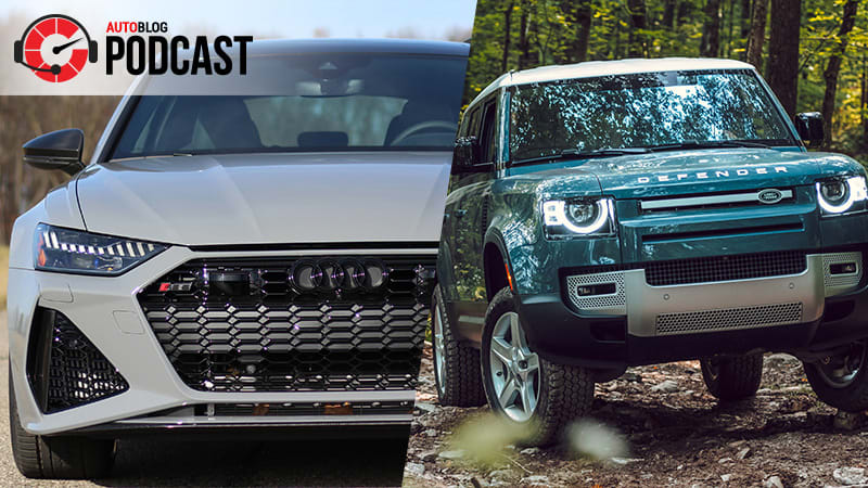 2020 Land Rover Defender, a pair of super wagons and watch talk | Autoblog Podcast #655