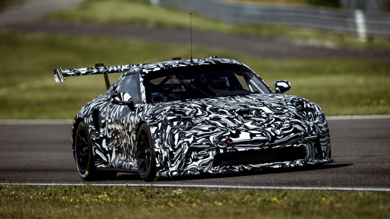 photo of 992-based Porsche 911 GT3 Cup previewed with massive rear wing image