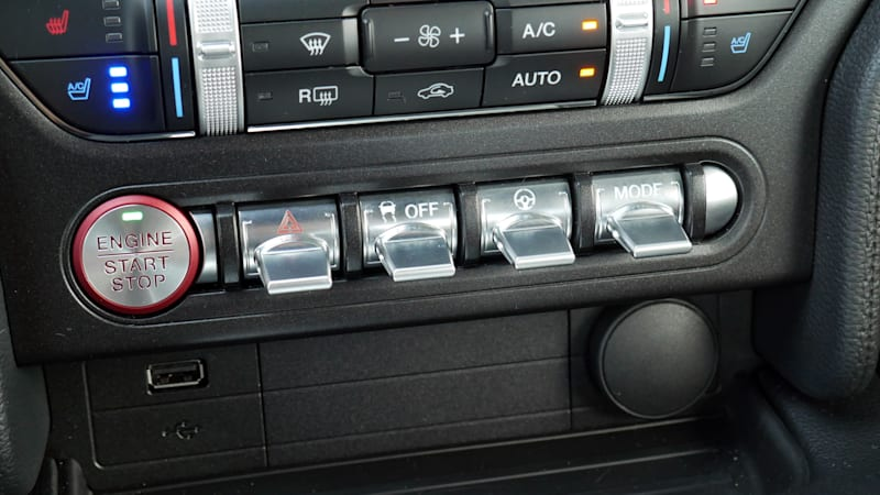2021 Ford Mustang Mach 1 toggles