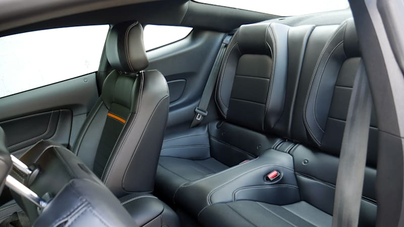 2021 Ford Mustang Mach 1 back seat