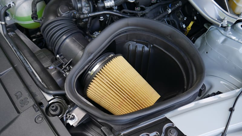 2021 Ford Mustang Mach 1 engine air filter
