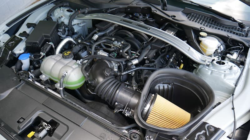 2021 Ford Mustang Mach 1 engine