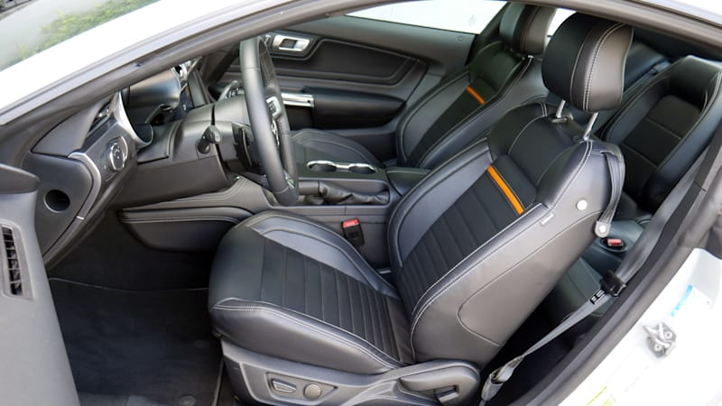 2021 Ford Mustang Mach 1 front seats