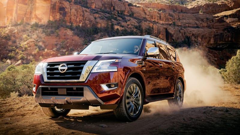 Nissan Armada 2021 дебютирует с рестайлингом и множеством новых технологий