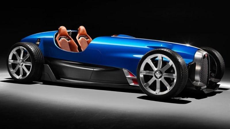 Bugatti Type 35 возрождается как роскошный родстер в ретро-стиле