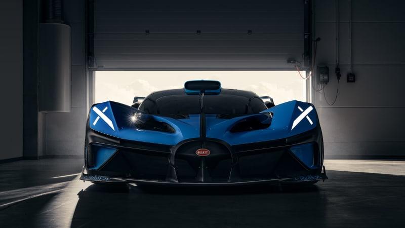 VW близок к решению о продаже Bugatti Rimac