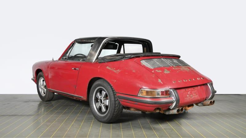 photo of Milestone 1967 Porsche 911 Targa barn-find is now factory-restored image