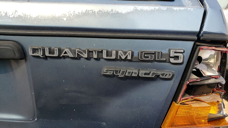 Junkyard Gem: 1987 Volkswagen Quantum GL5 Syncro Wagon