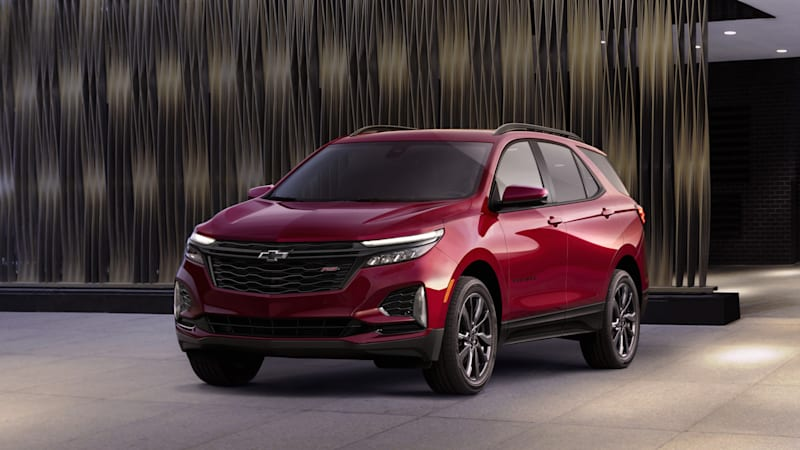 2022 chevy equinox adds rs trim 2021