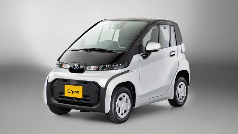 Toyota reveals two-seater urban EV for the Japanese market
