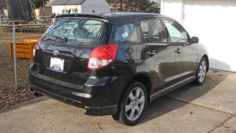 The 2003 Toyota Matrix XRS was a hatchback with the heart of a Lotus