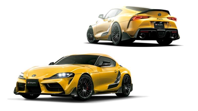 Toyota previews modified Supra, GR Yaris, Mirai ahead of 2021 Tokyo Auto Salon