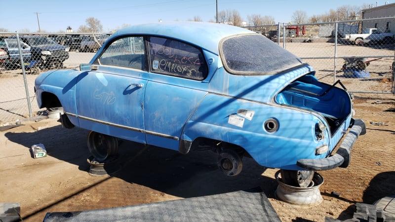 Junkyard Gem: 1971 Saab 96