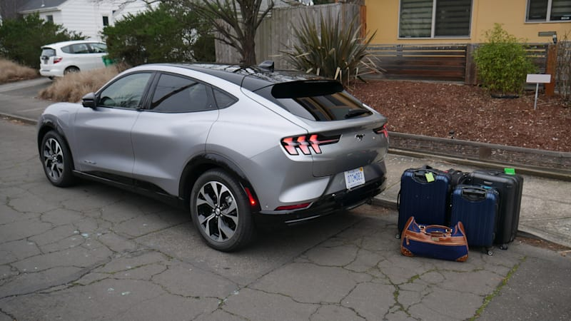 2021 Ford Mustang Mach-E Luggage Test | Escape for the weekend
