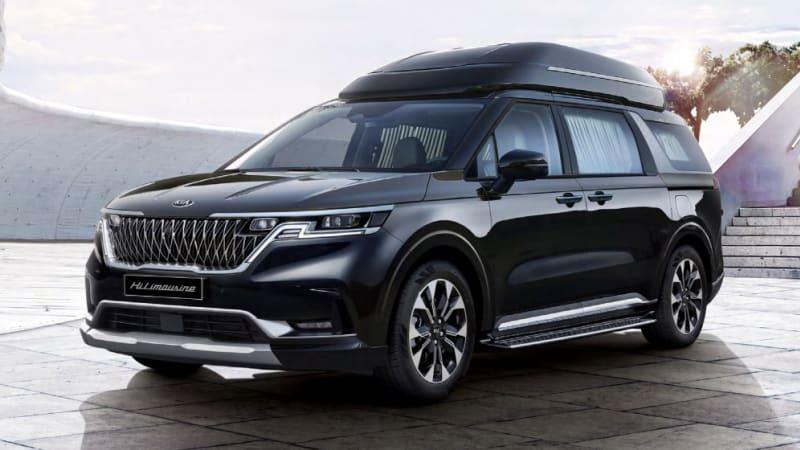Лимузин Kia Carnival Hi 2021 года представлен в Южной Корее
