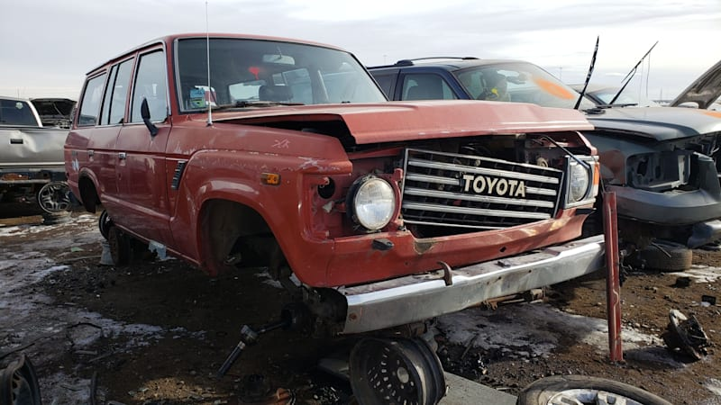 Junkyard Gem: 1987 Toyota Land Cruiser