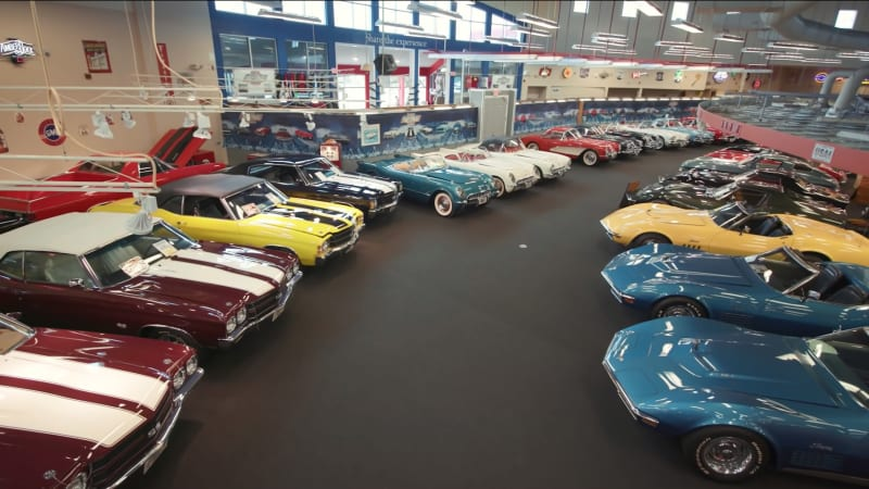 Крупнейший в мире музей маслкаров GM продает свои автомобили с аукциона