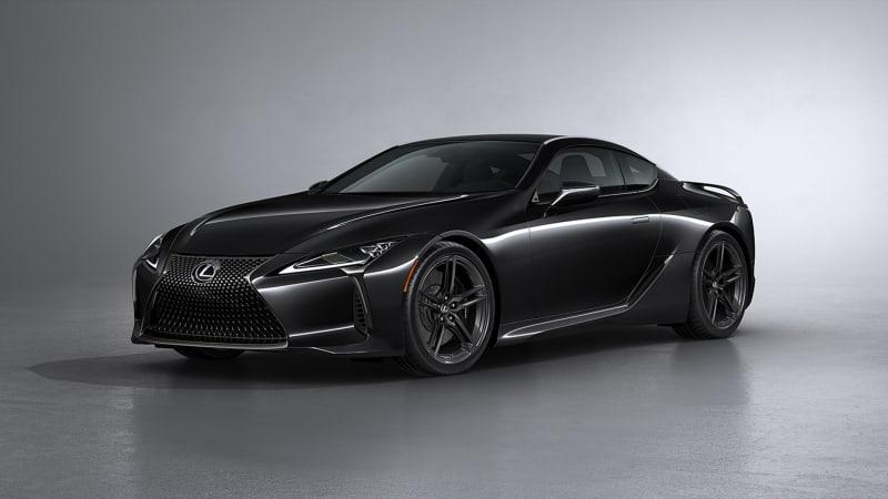 Lexus представляет купе LC500 Inspiration Series 2021 года
