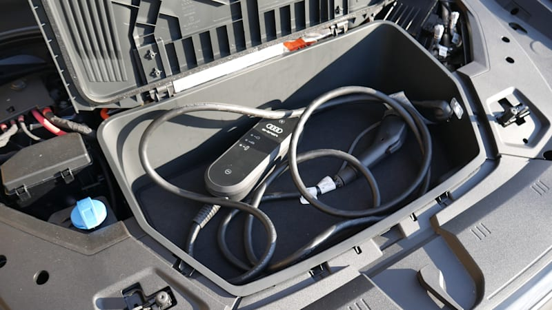 Тест багажа Audi e-Tron Sportback 2021 года | Более просторный, чем ожидалось