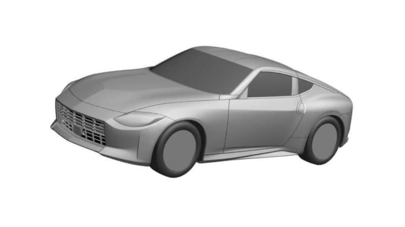 Обнаружены изображения патента на серийный Nissan 400Z