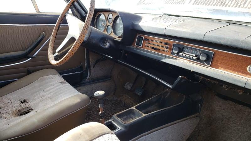 Junkyard Gem: 1970 Audi 100LS