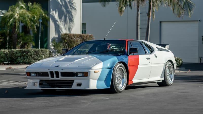 BMW M1 Пола Уокера выставлен на аукцион