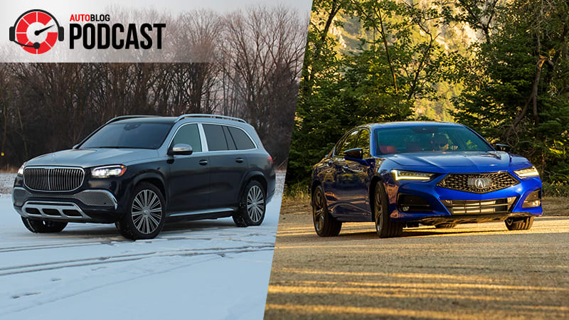Mercedes-Maybach GLS 600 and our new long-term Acura TLX | Autoblog Podcast #661