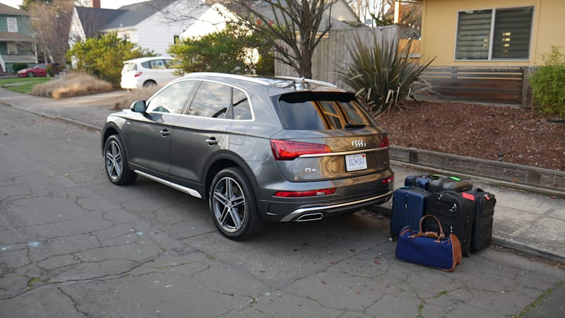 2021 Audi Q5 Luggage Test   Versatile but space is limited