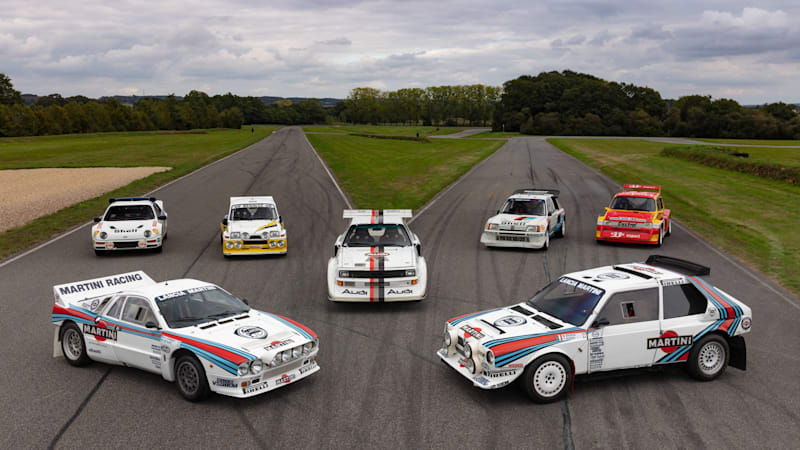 An amazing Group B rally car collection heads to auction