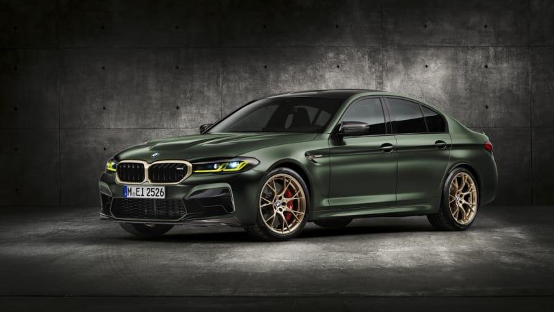 BMW M5 CS 2022 года на 230 фунтов легче, чем M5 Competition