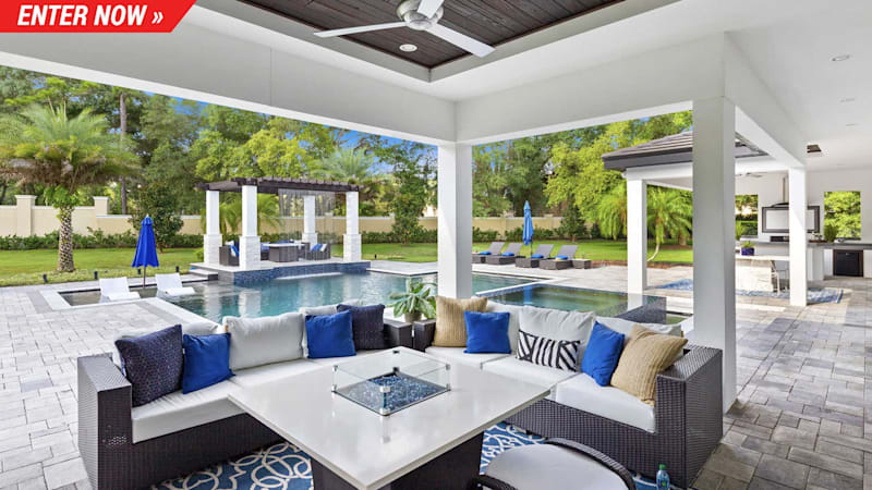 Omaze is giving away a 5,000 sq ft villa or  million