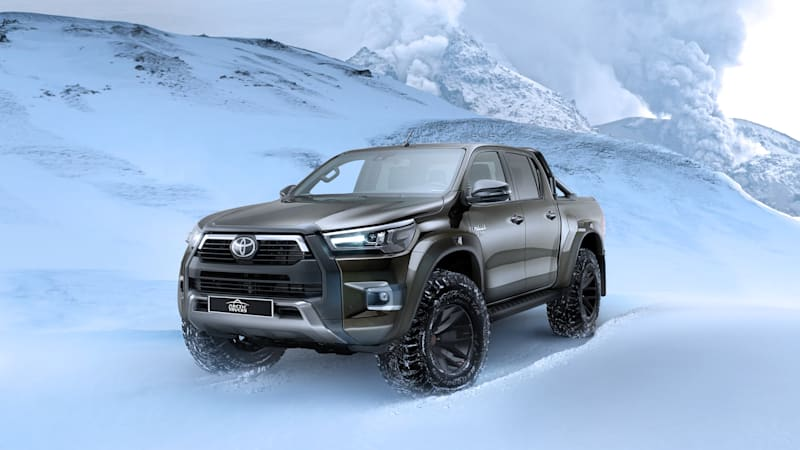 Toyota launches a Hilux pickup designed to tame the Arctic