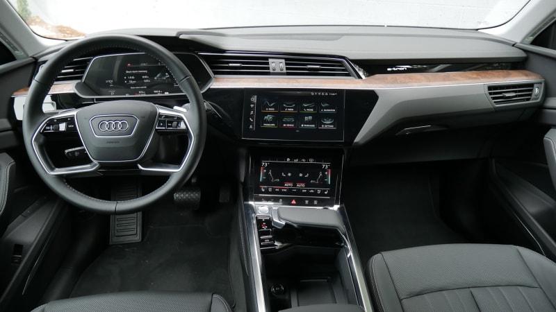2021 Audi E-Tron Sportback Interior Driveway Test