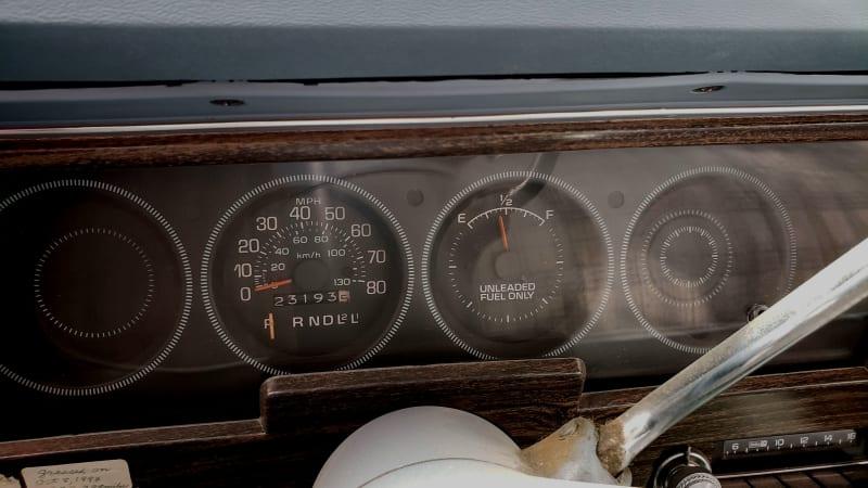 Жемчужина свалки: седан Buick Skylark 1978 года выпуска