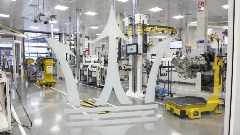 Новый Nettuno V6 Maserati MC20 — образец высоких технологий