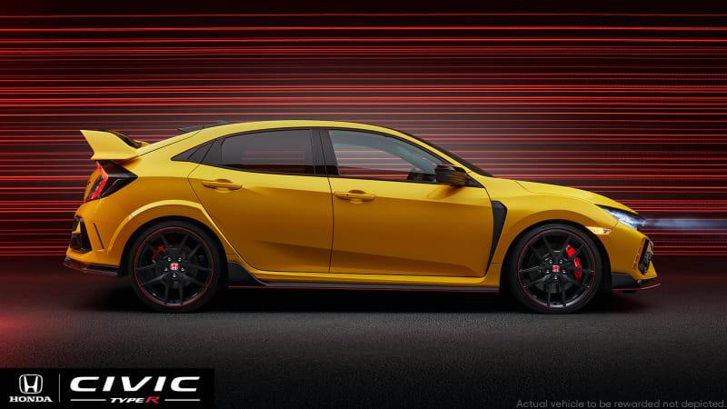 Присоединяйтесь сейчас, чтобы выиграть первый Honda Civic Type R LE 2021 года