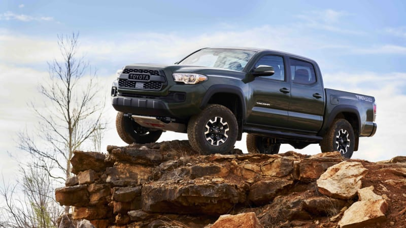 Toyota introduces Tacoma TRD lift kit