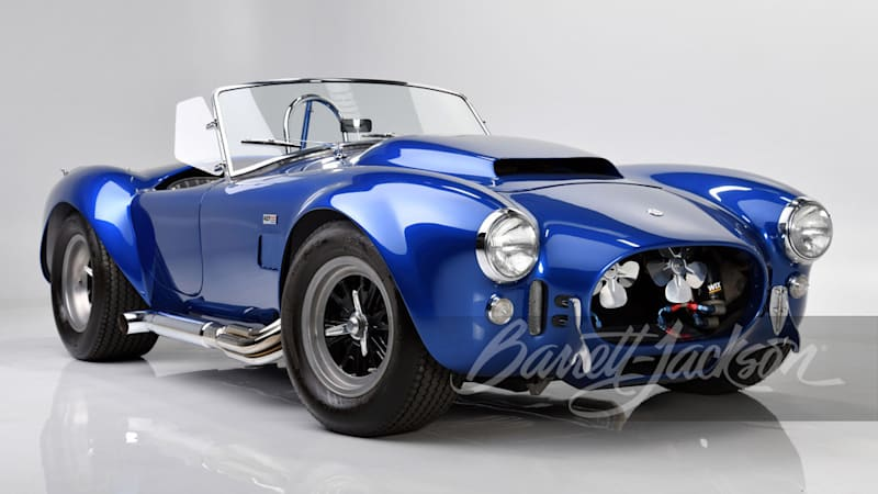 1966 Shelby Cobra 427 Super Snake owned by Carroll Shelby goes to auction