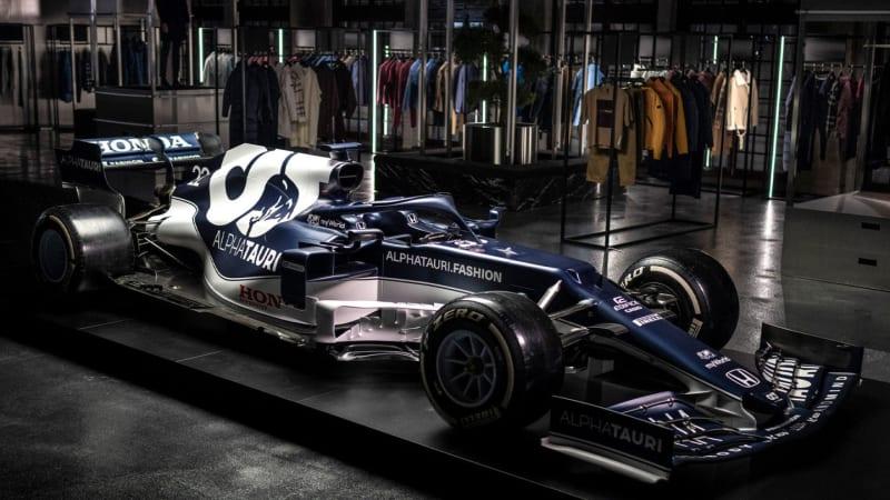 Команда AlphaTauri F1 представила автомобиль 2021 года