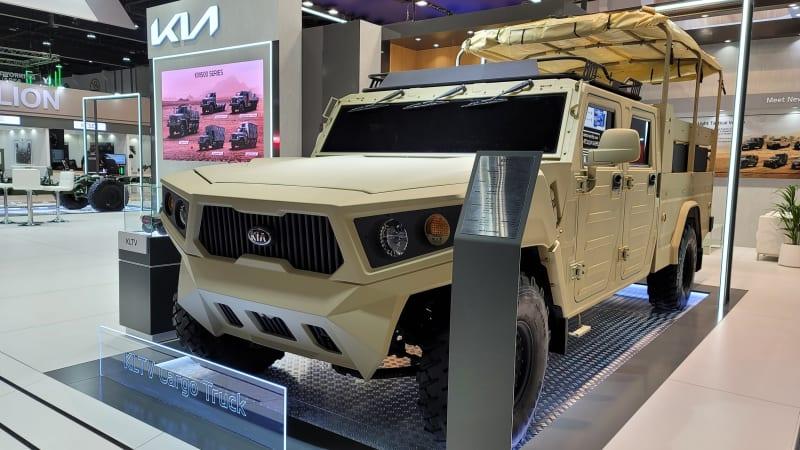 Kia представляет концепт легкого тактического грузовика на выставке IDEX 2021