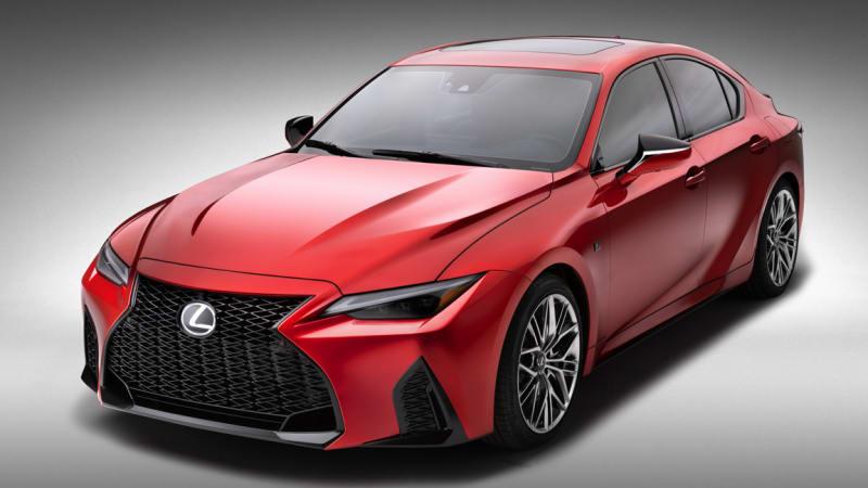 Формула Lexus IS F возвращается к 2022 году в 472-сильном IS 500 F Sport Performance.