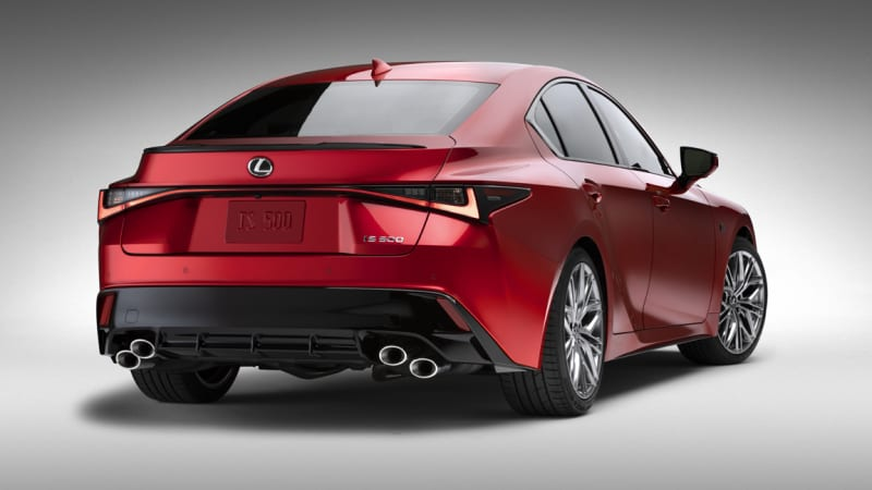 2022 Lexus IS 500 F Sport Performance brings back the V8