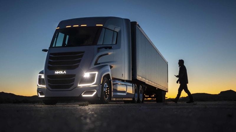 Nikola нацеливается на линейку своих грузовиков на водородных топливных элементах