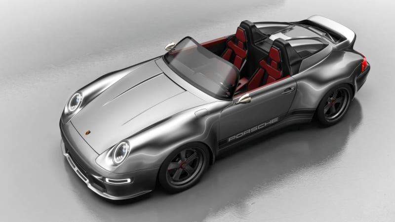 Гюнтер Веркс представляет обновленный Porsche 993 Speedster