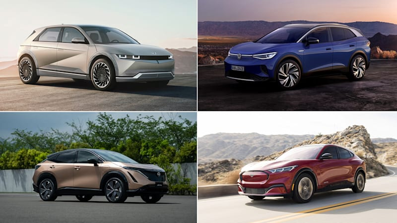 How the Ioniq 5 compares to the Mustang Mach-E, Nissan Ariya and VW ID.4