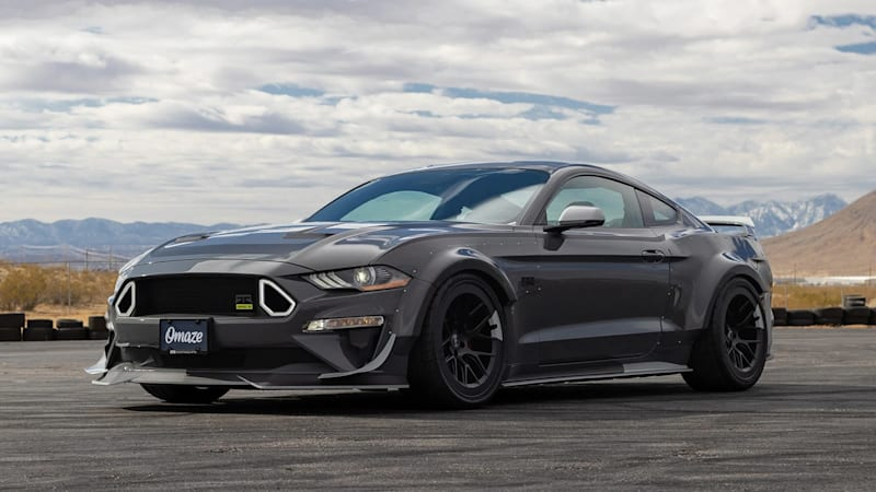 Omaze is giving away a 750 hp Ford Mustang and you can enter for free